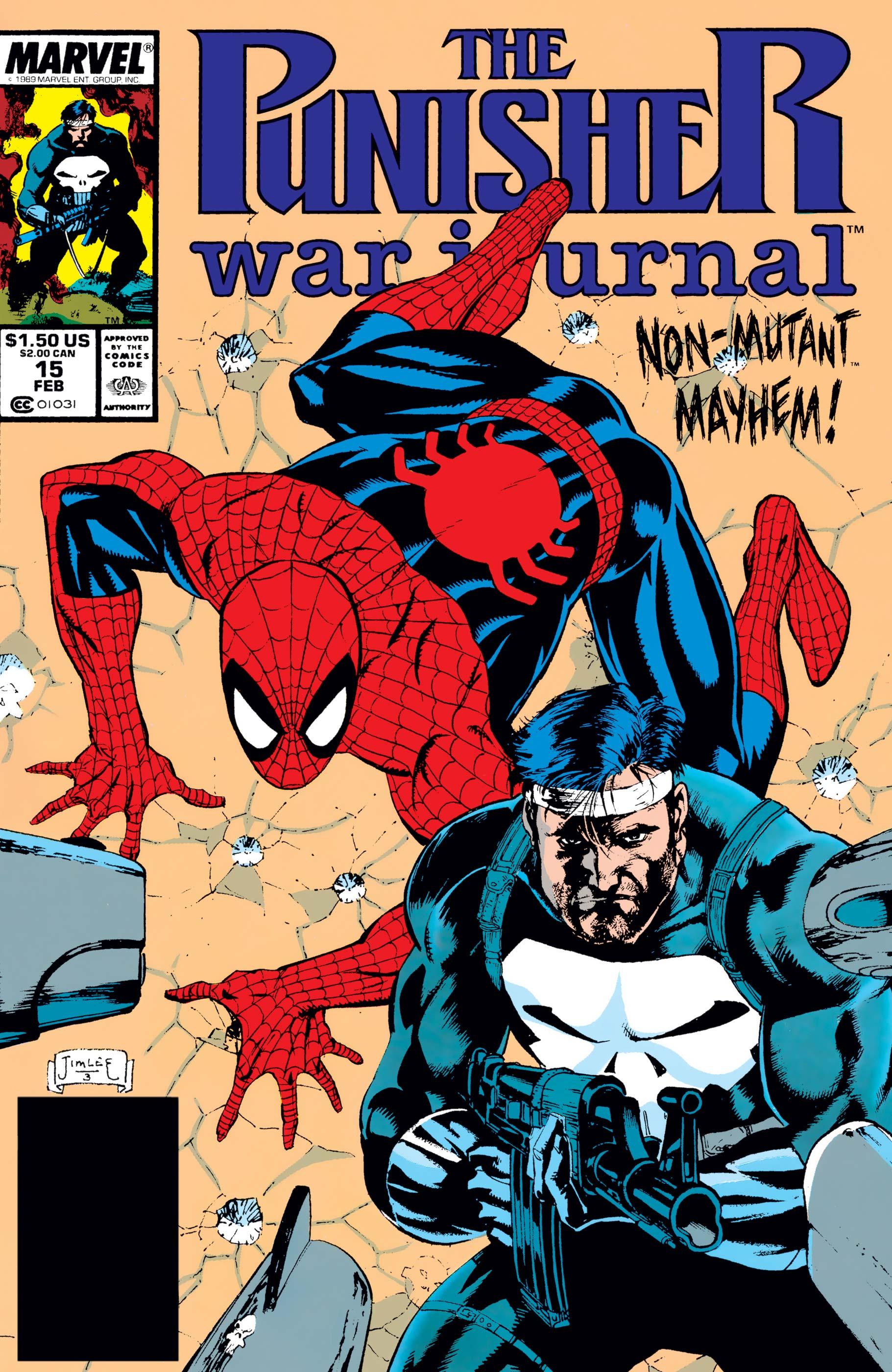 Punisher War Journal (1988) #15