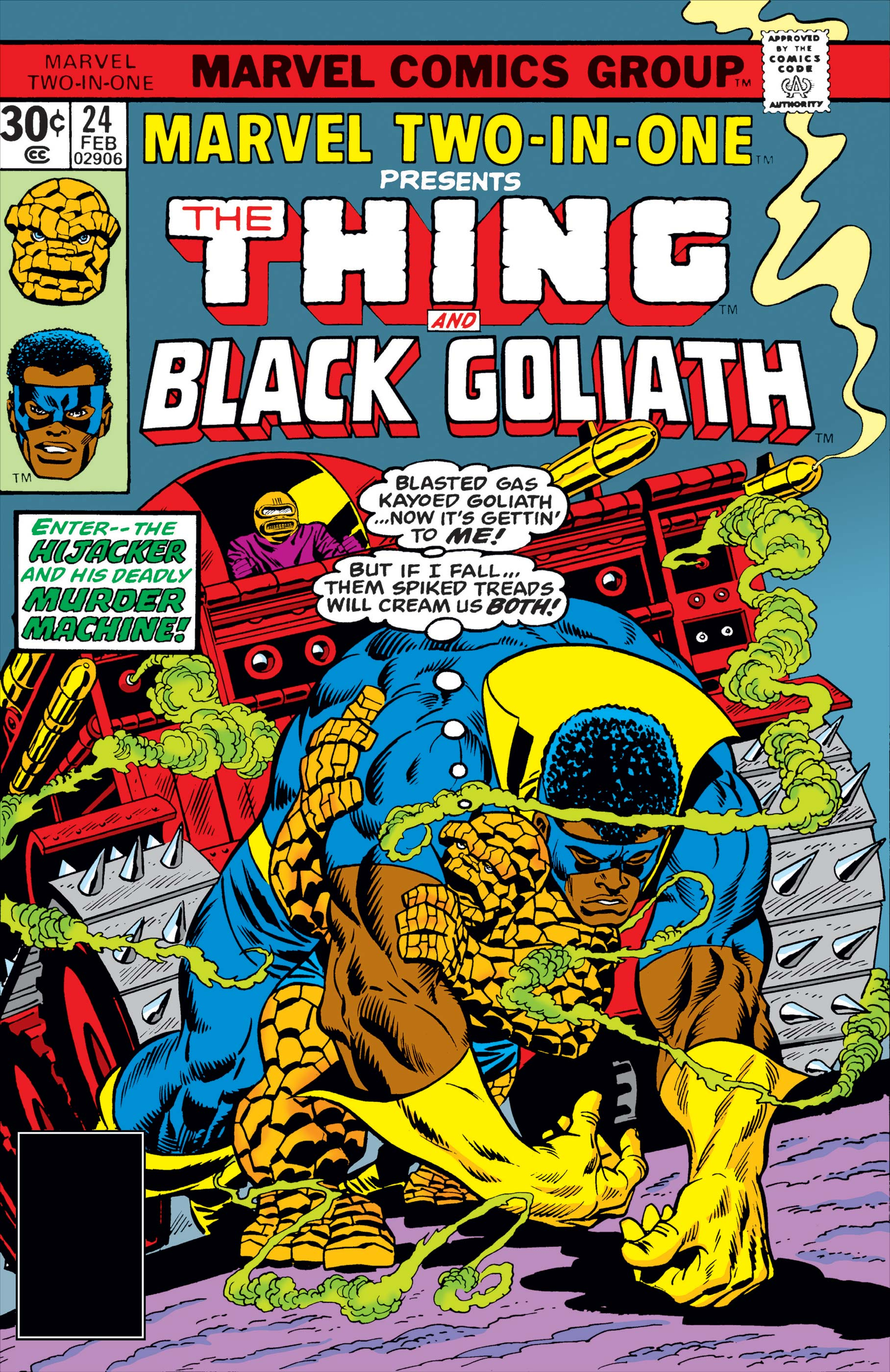 Marvel Two-in-One (1974) #24