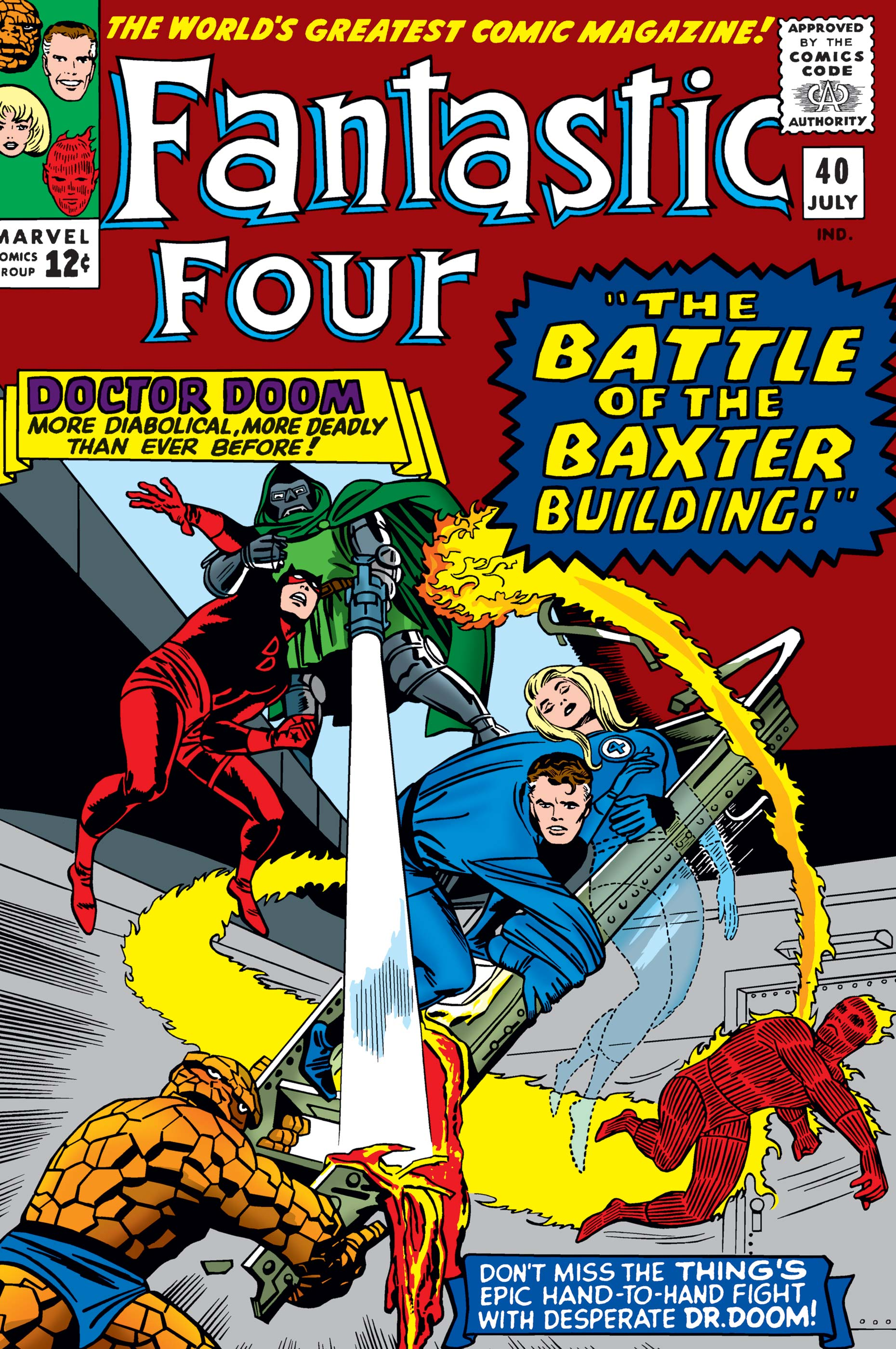 Fantastic Four (1961) #40