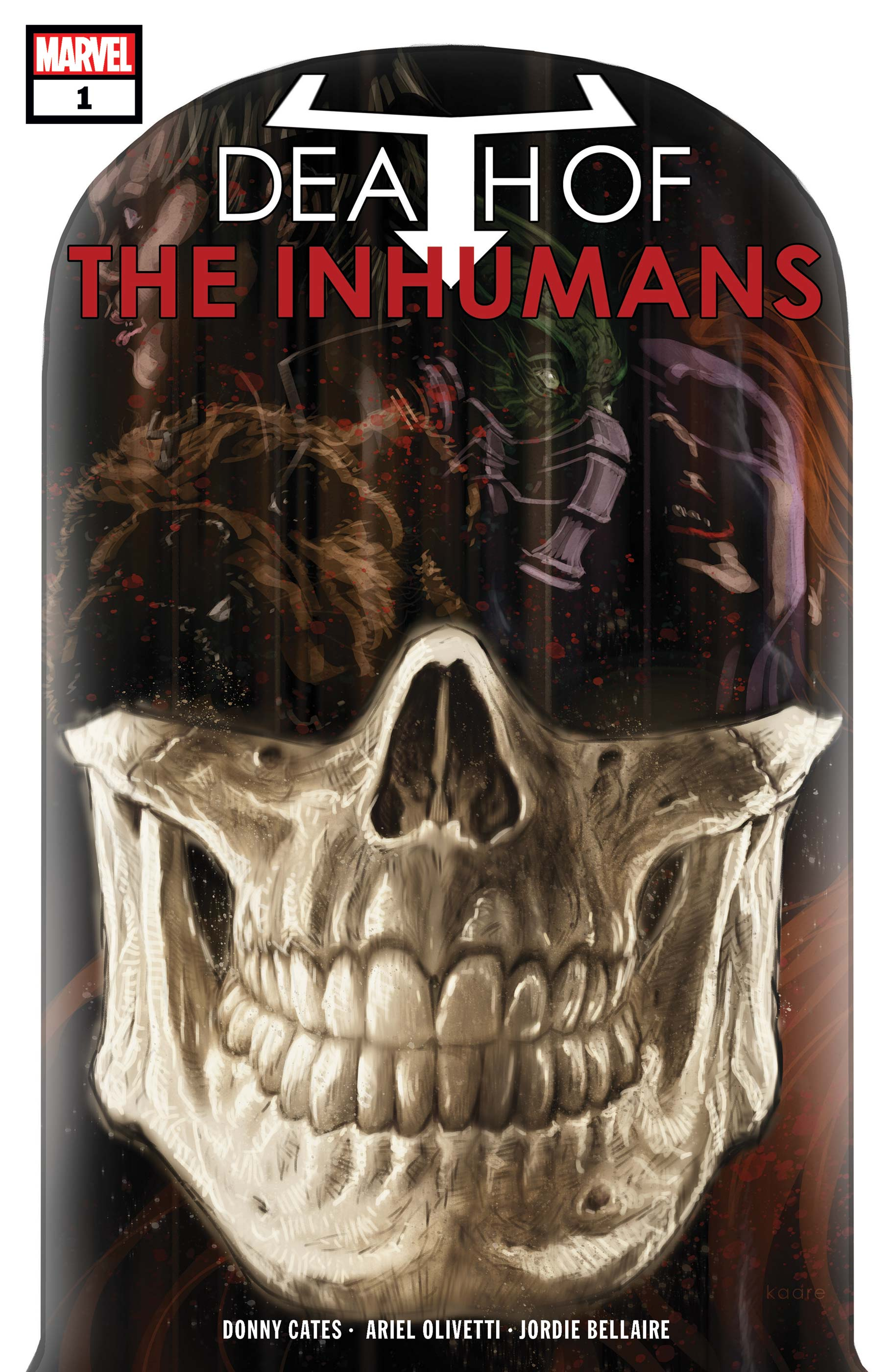 Death of the Inhumans (2018) #1