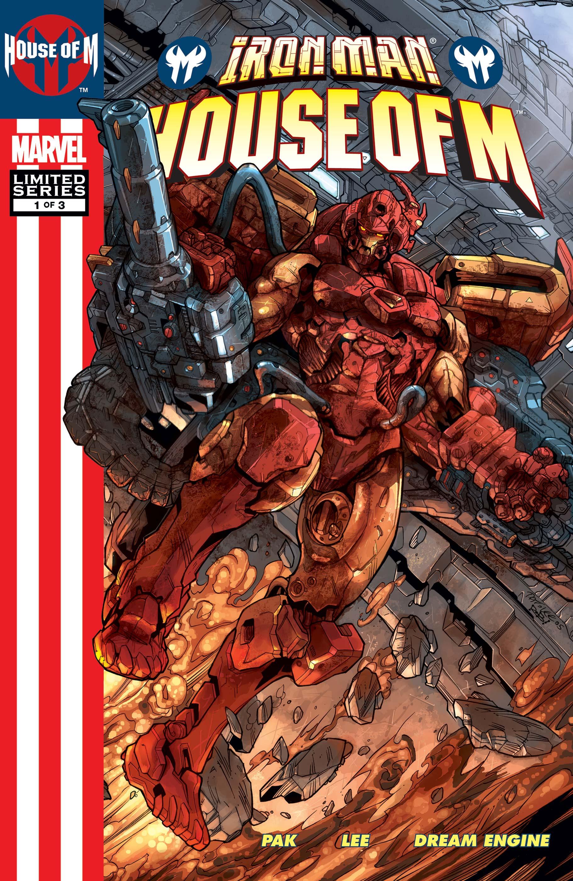 Iron Man: House of M (2005) #1