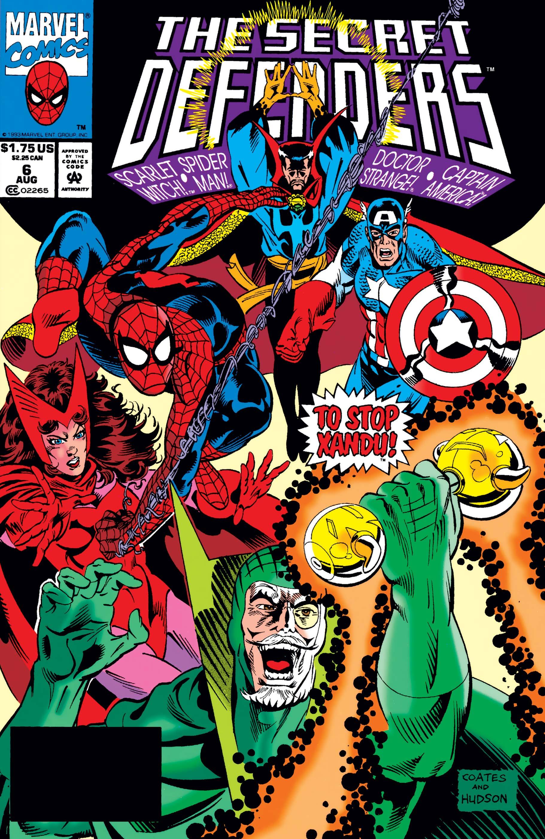 Secret Defenders (1993) #6