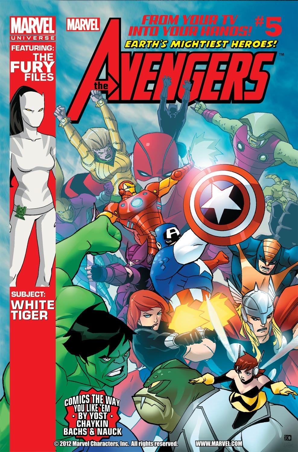 Marvel Universe Avengers: Earth's Mightiest Heroes (2012) #5