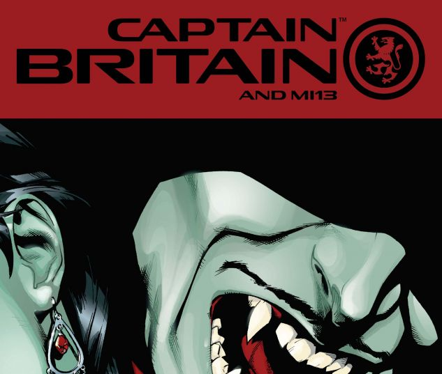 CAPTAIN BRITAIN AND MI: 13 (2008) #10