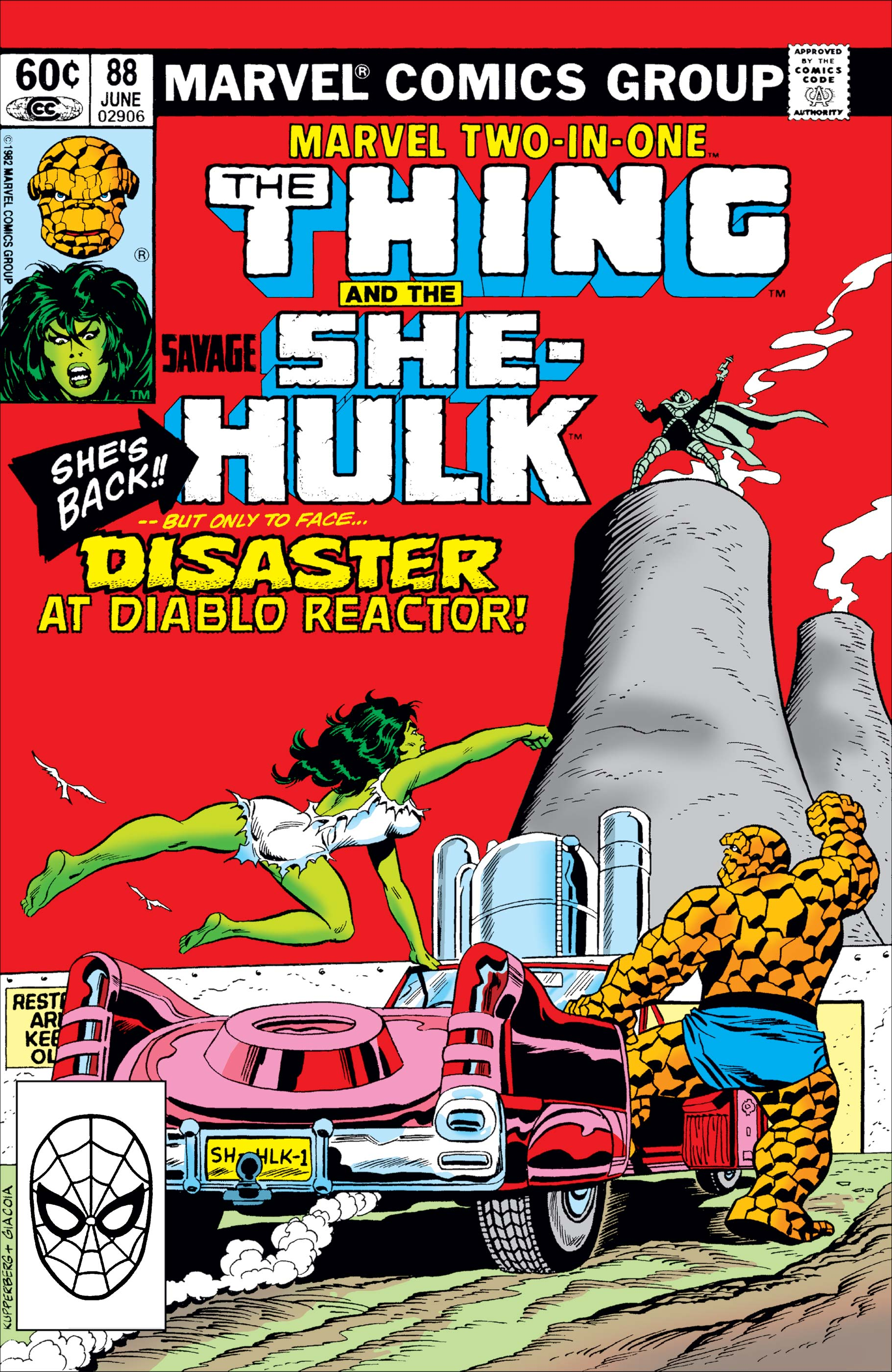 Marvel Two-in-One (1974) #88