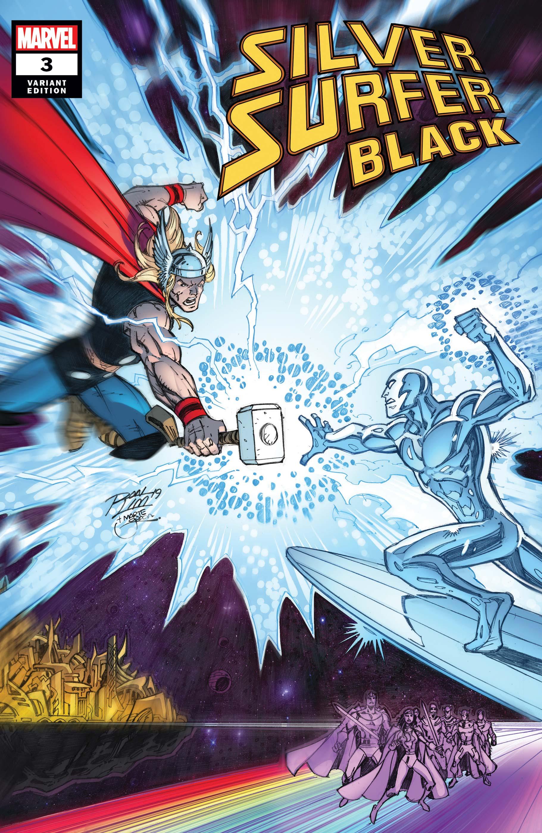 Silver Surfer: Black (2019) #3 (Variant)