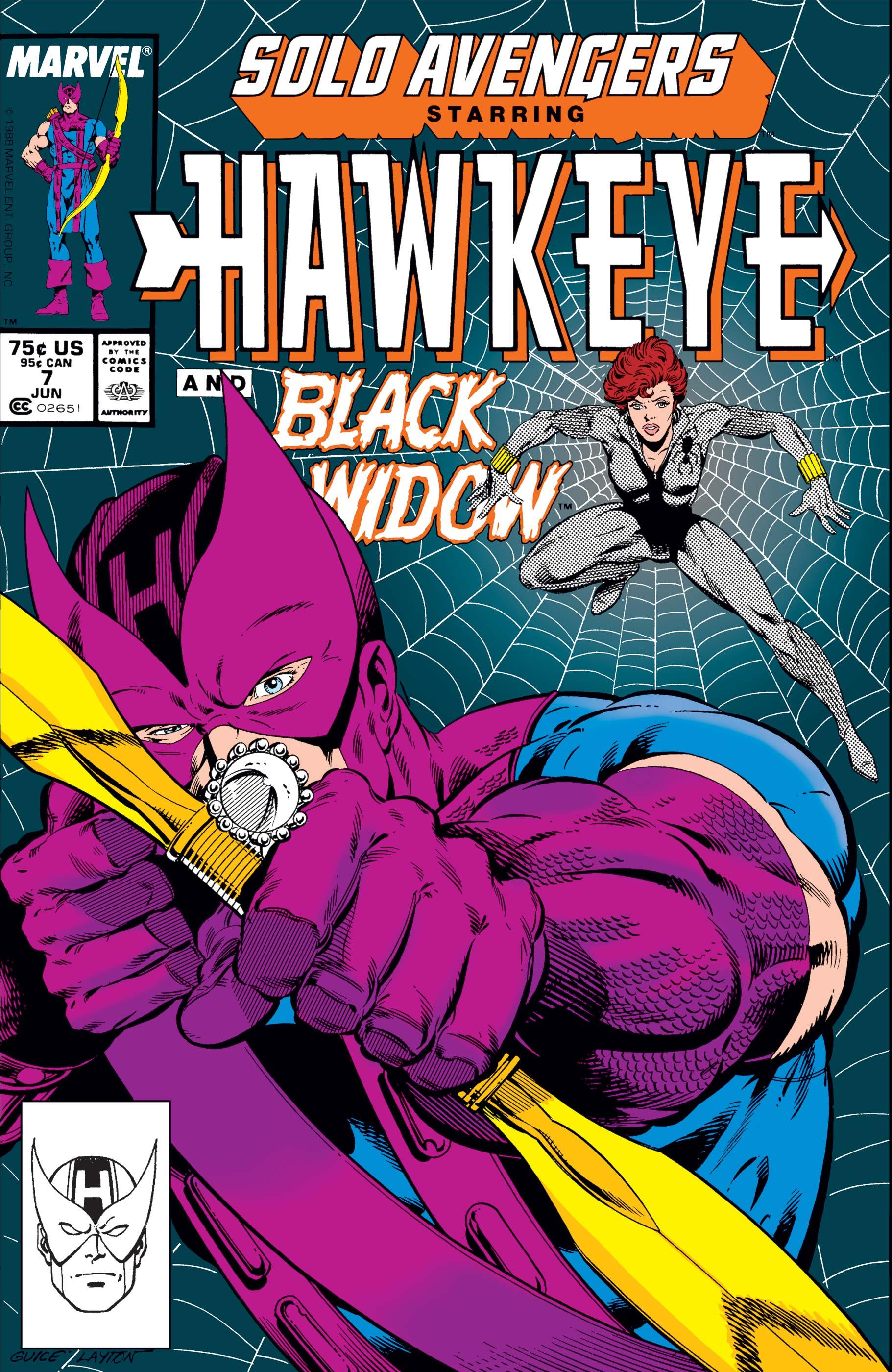 Solo Avengers (1987) #7