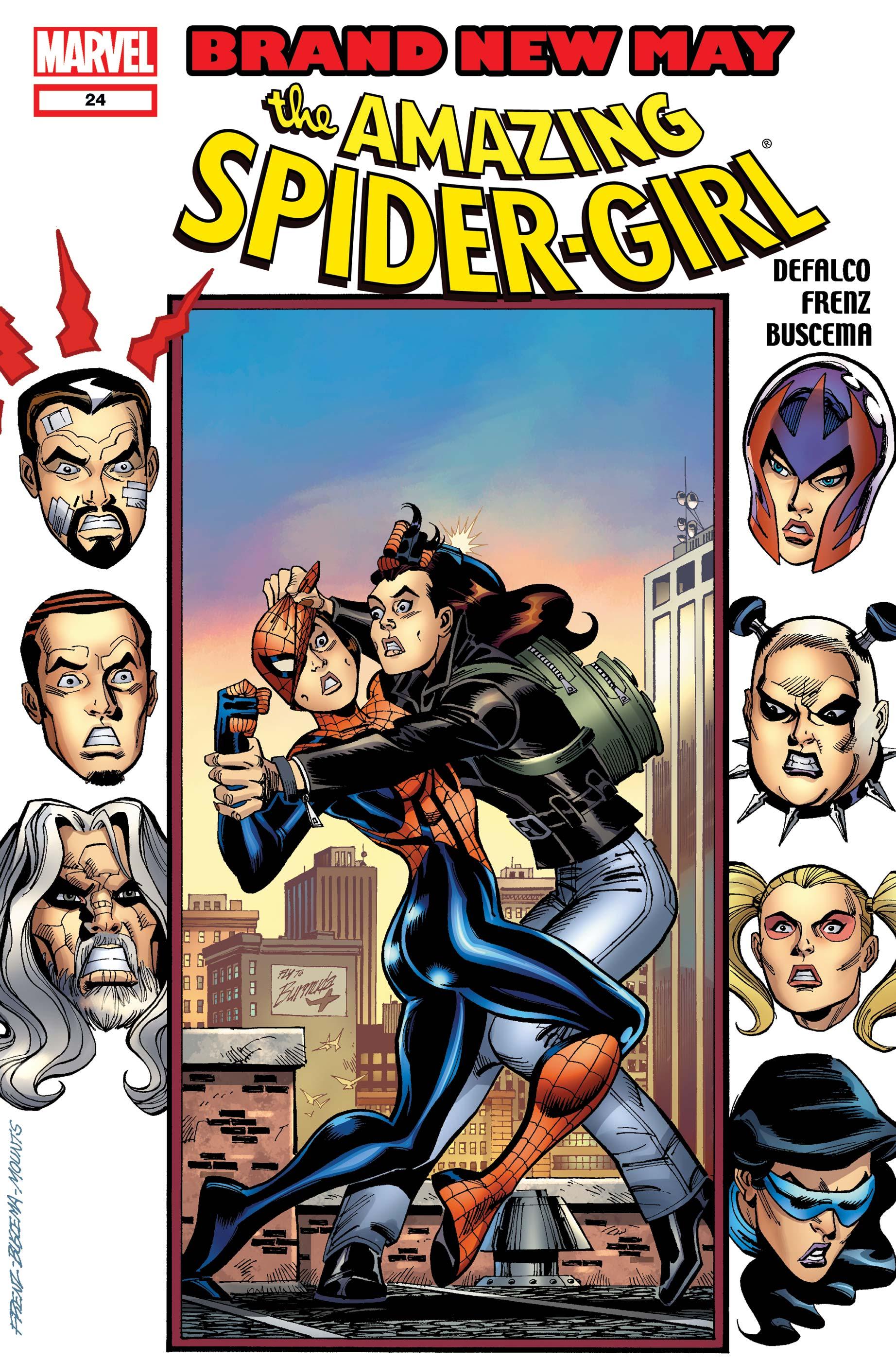 Spider-Girl #22 July 2000 Marvel Comics Defalco Olliffe Williamson
