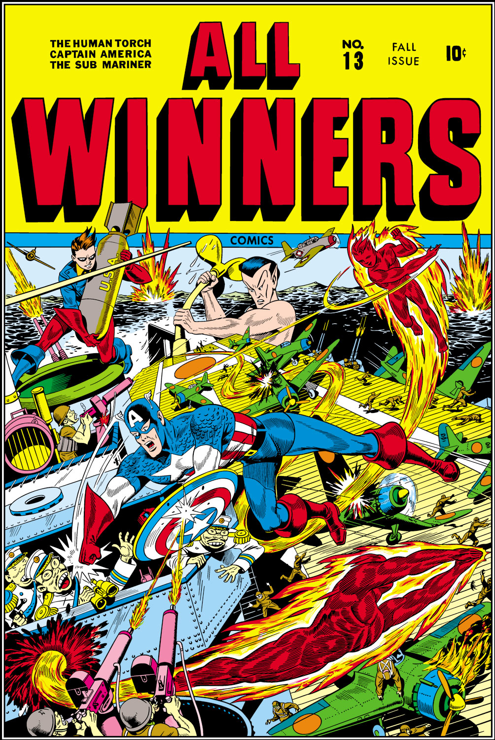 All-Winners Comics (1941) #13