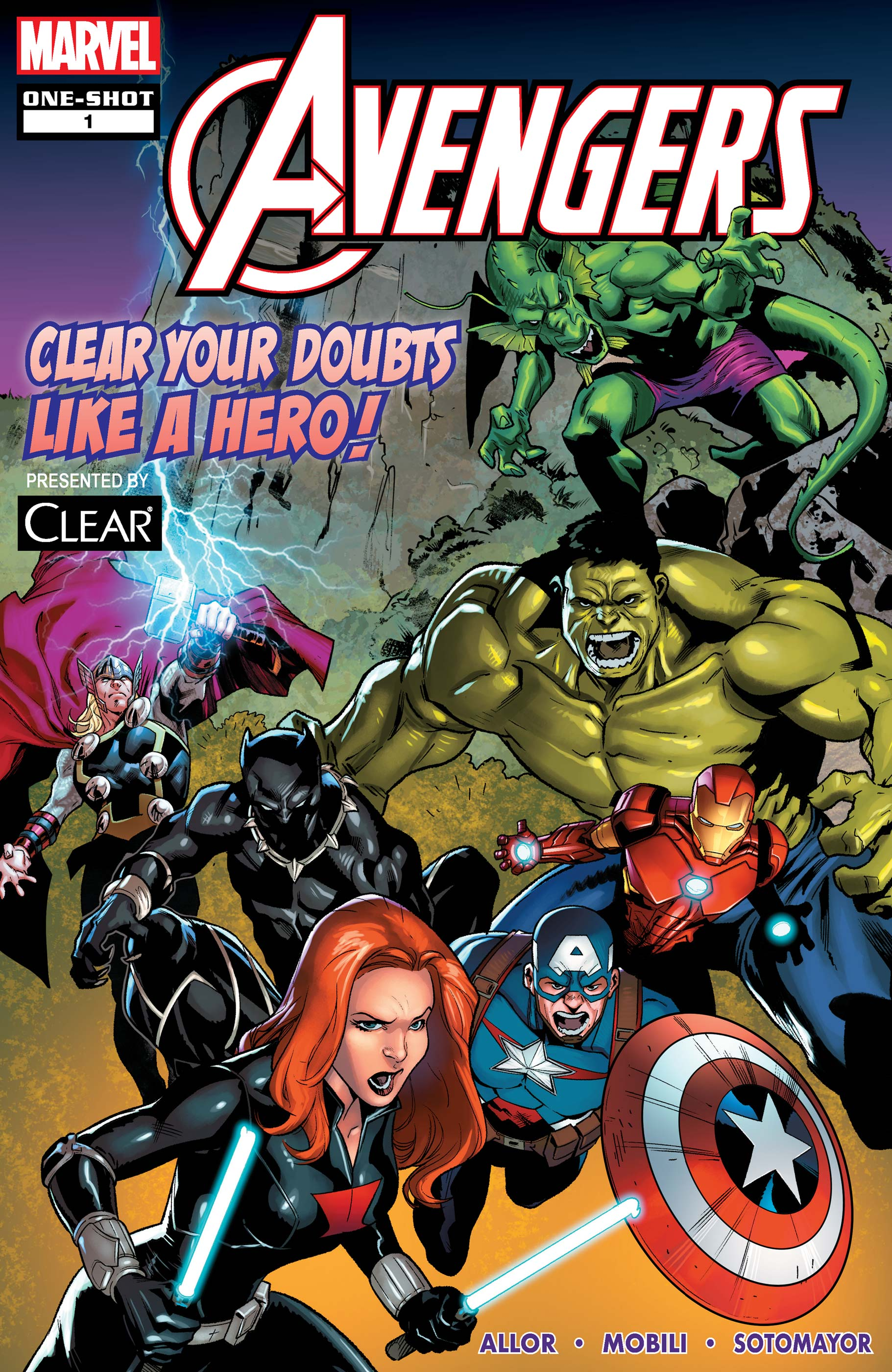 AVENGERS: CLEAR YOUR DOUBTS LIKE A HERO! (2020)