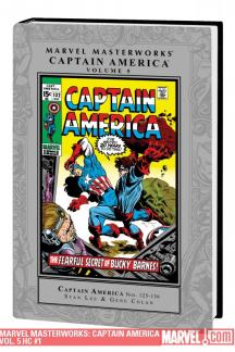 Marvel Masterworks: Captain America Vol. 5 (Hardcover)