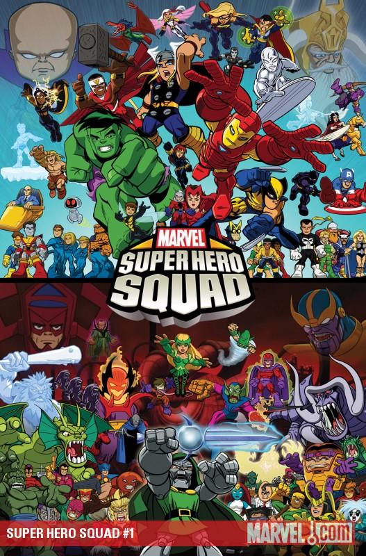 [Top 10] - MARVEL Comics - Parte 2 - Séries Animadas Detail
