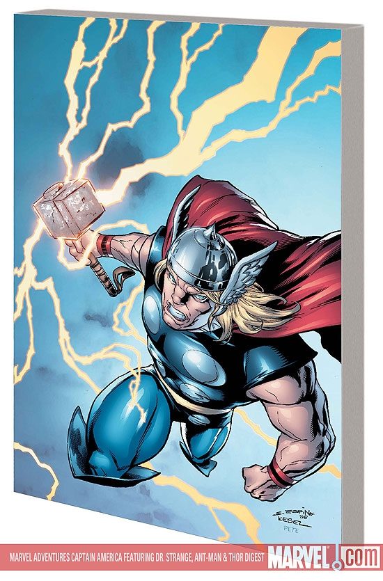 Marvel Adventures Thor Featuring Doctor Strange, Ant-Man and Captain America Digest (Digest)