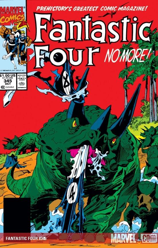 Fantastic Four (1961) #345