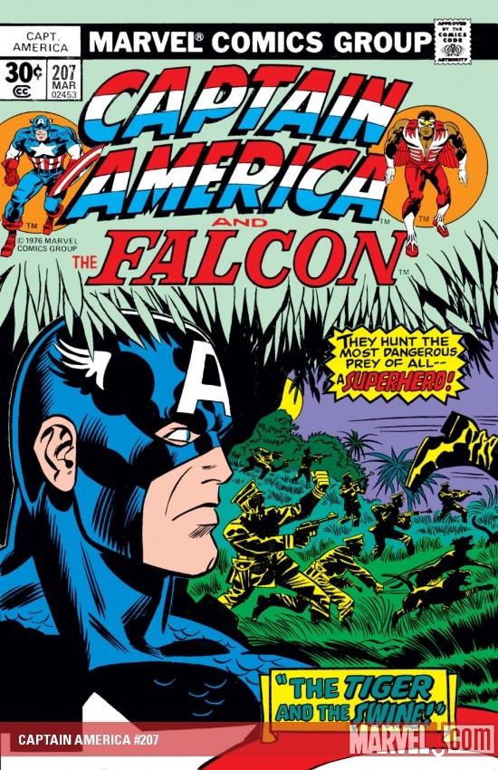 Captain America (1968) #207