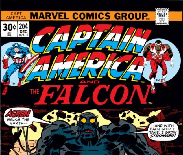 CAPTAIN AMERICA (2009) #204 COVER