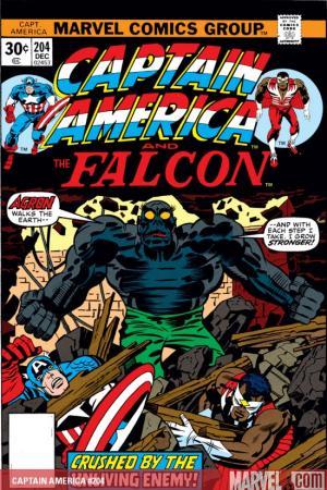 Captain America #204
