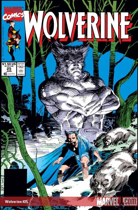 Wolverine (1988) #25