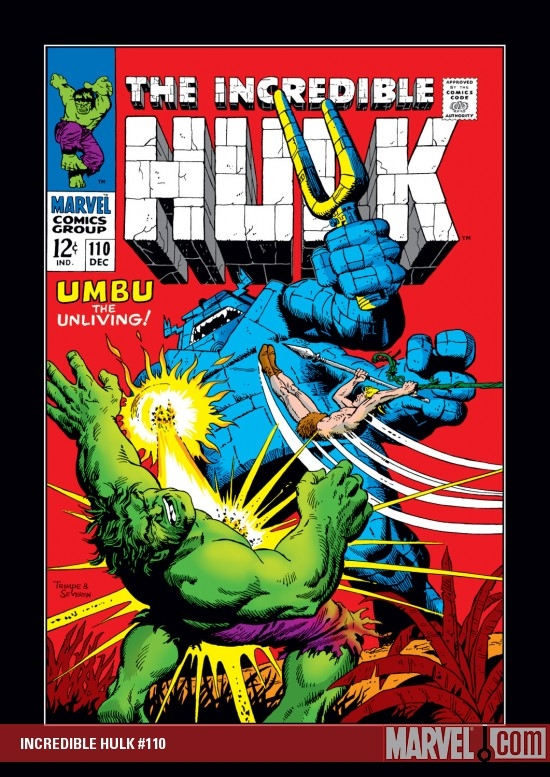 Incredible Hulk (1962) #110