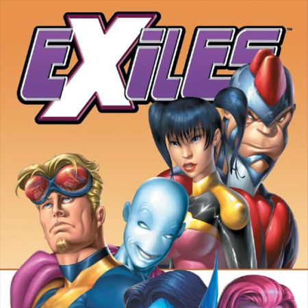 EXILES VOL. II: A WORLD APART TPB COVER