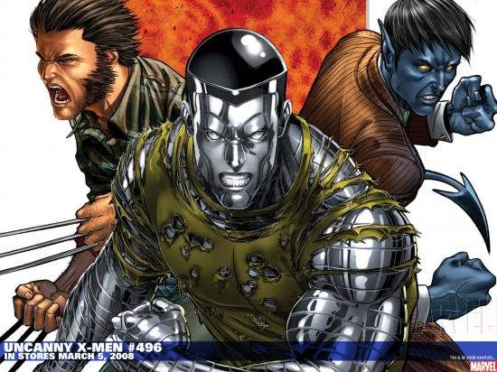 Uncanny X-Men (1963) #496 Wallpaper