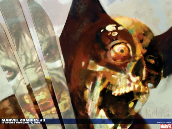 Marvel Zombies (2005) #3 Wallpaper