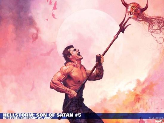 Hellstorm: Son of Satan (2006) #5 Wallpaper