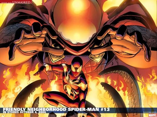 Friendly Neighborhood Spider-Man (2005) #13 Wallpaper