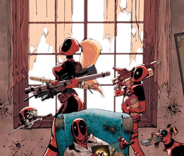 Deadpool family 2010 1 comics for Dead pool show in jaipur