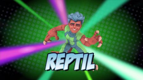 Super Hero Squad Online: Reptil Vignette