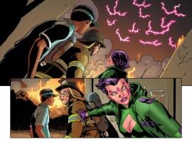 New Mutants #34 Preview Art by David Lopez
