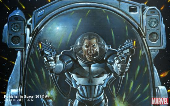 Punisher in Space (2011) #1