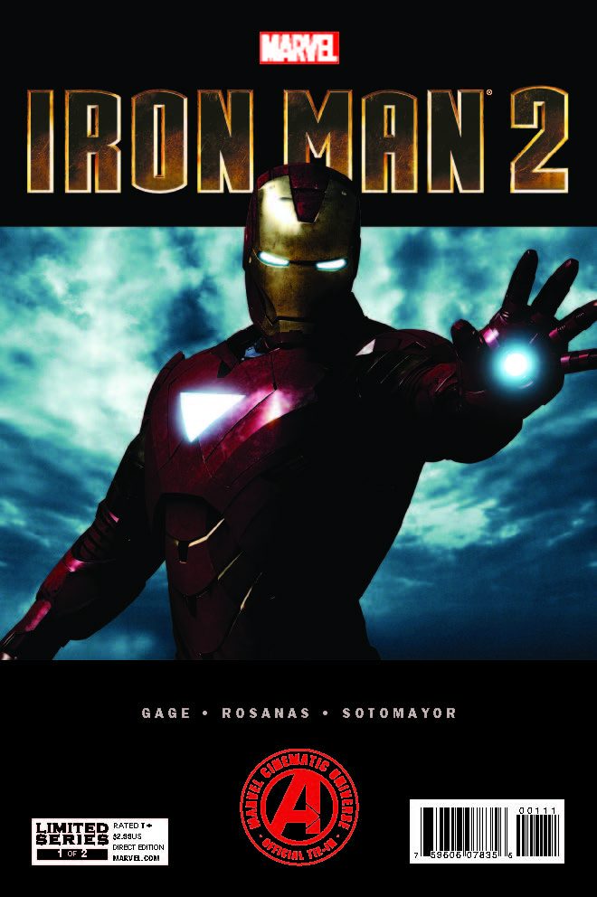 Marvel's Iron Man 2 Adaptation (2012) #1