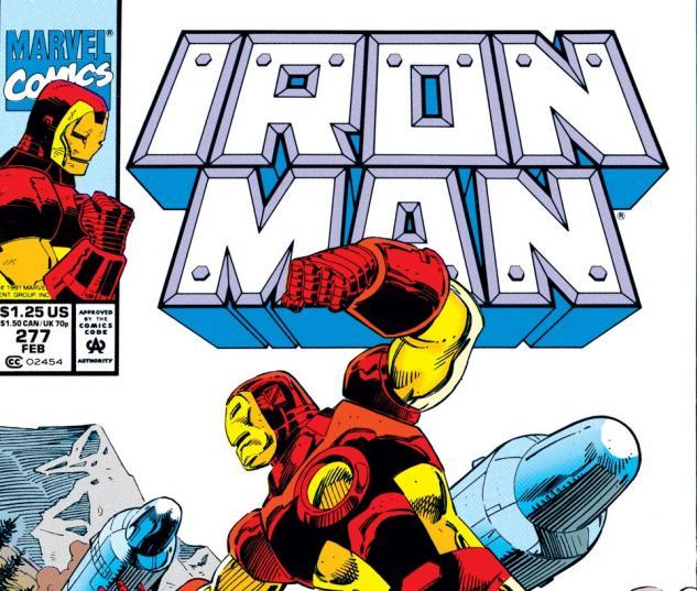 Iron Man (1968) #277 Cover