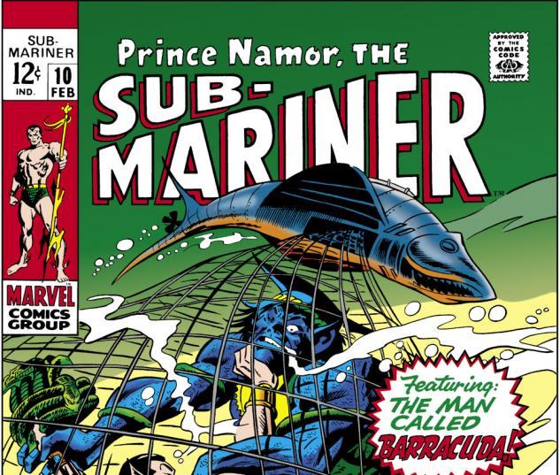 Sub-Mariner (1968) #10 Cover