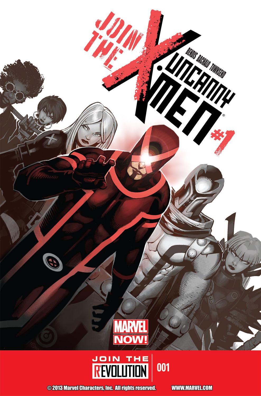 Uncanny X-Men (2013) #1 (Hastings Variant)