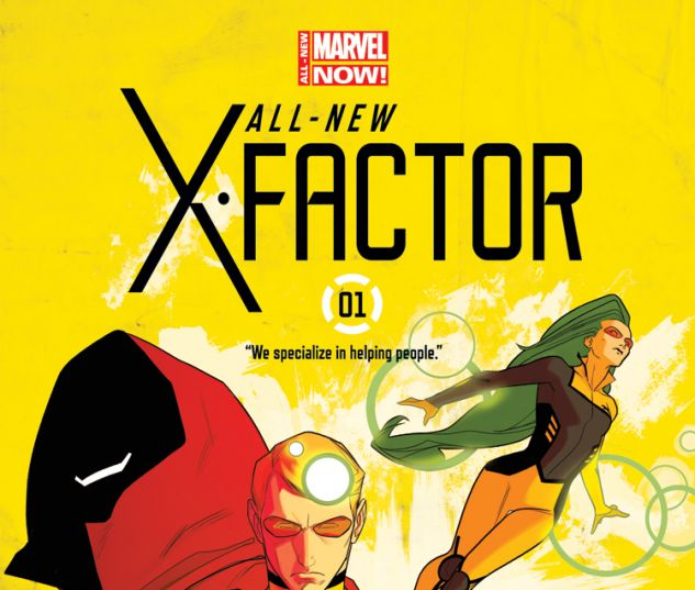 ALL-NEW X-FACTOR 1 (ANMN, WITH DIGITAL CODE)