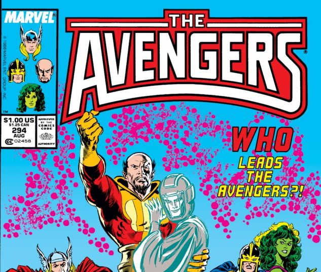 Avengers (1963) #294 Cover