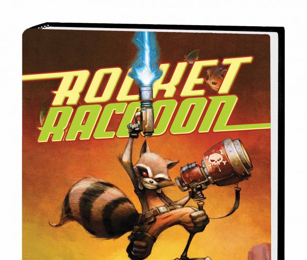 ROCKET RACCOON VOL. 1: A CHASING TALE PREMIERE HC (WITH DIGITAL CODE)