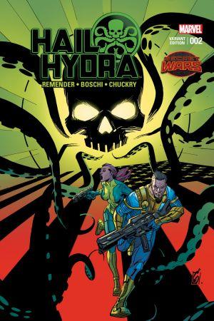 Hail Hydra (2015) #2 (Garney Variant)
