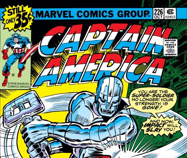 Captain America (1968) #226