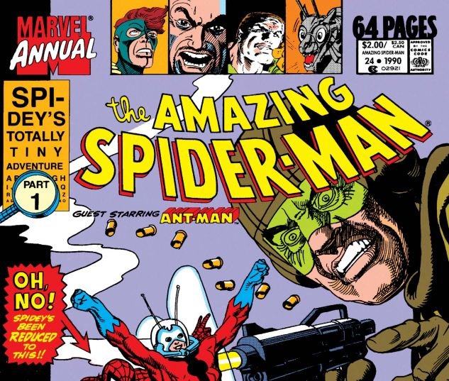 AMAZING SPIDER-MAN ANNUAL (1964) #24