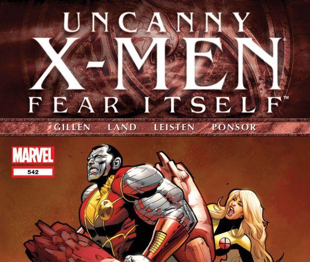 Uncanny X-Men (1963) #542
