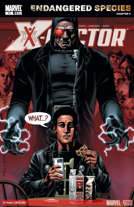 X-Factor (2005) #21
