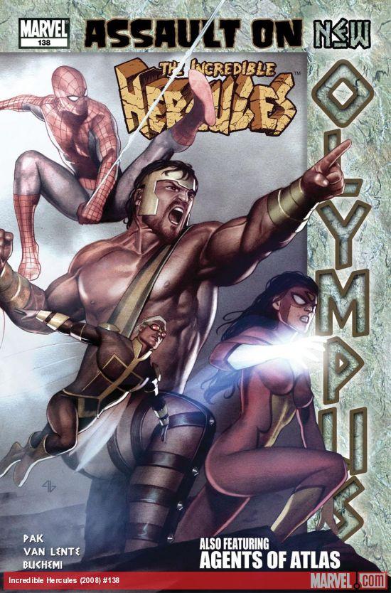 Incredible Hercules (2008) #138