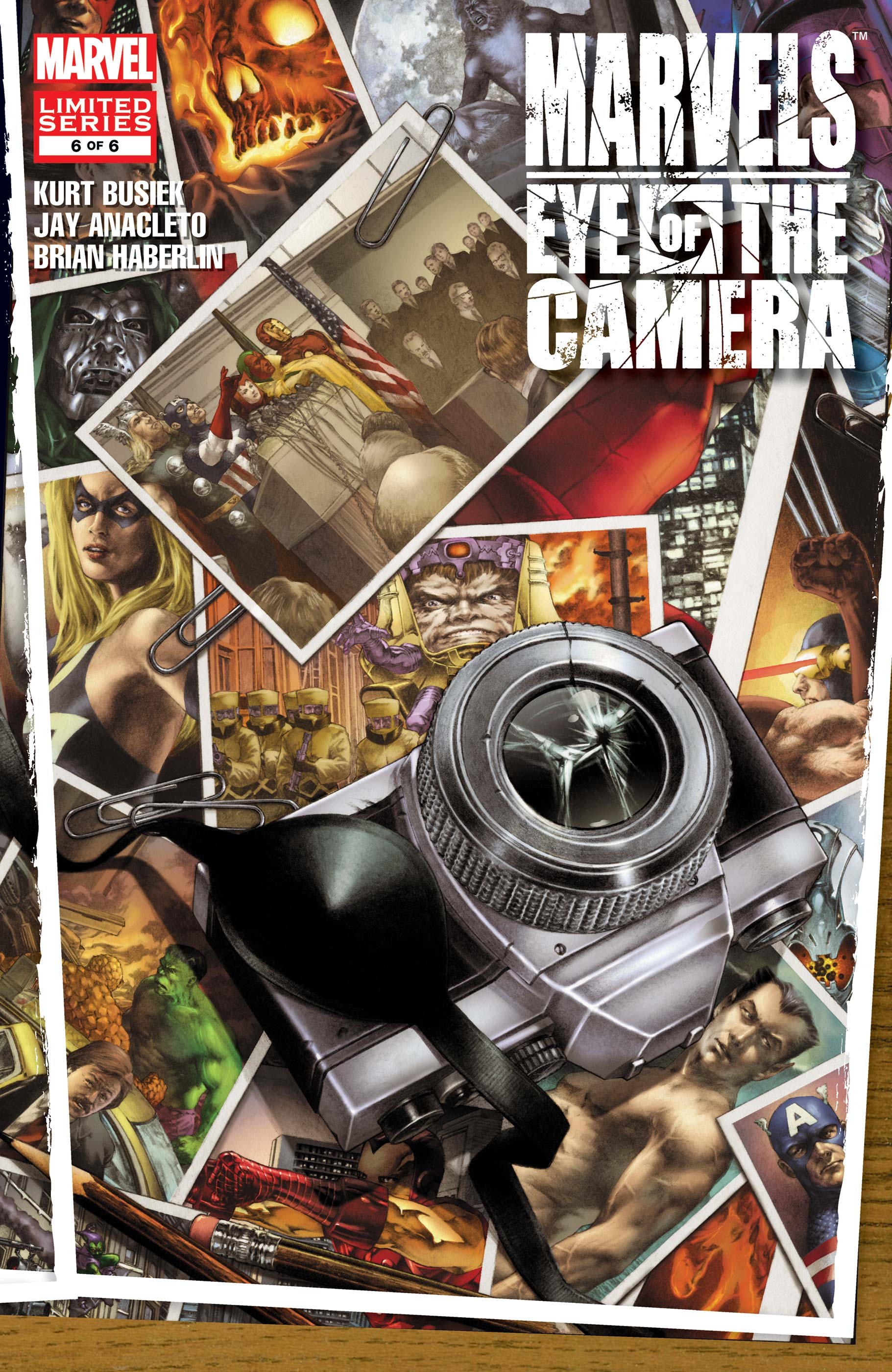 Marvels: Eye of the Camera (2008) #6