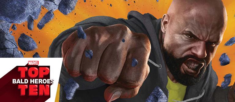 Marvel Top 10 Bald Heroes