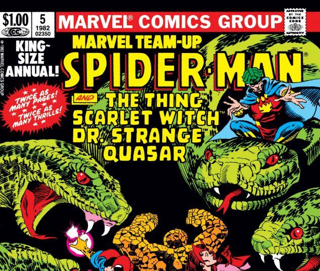 Marvel Team-Up Annual (1976) #5