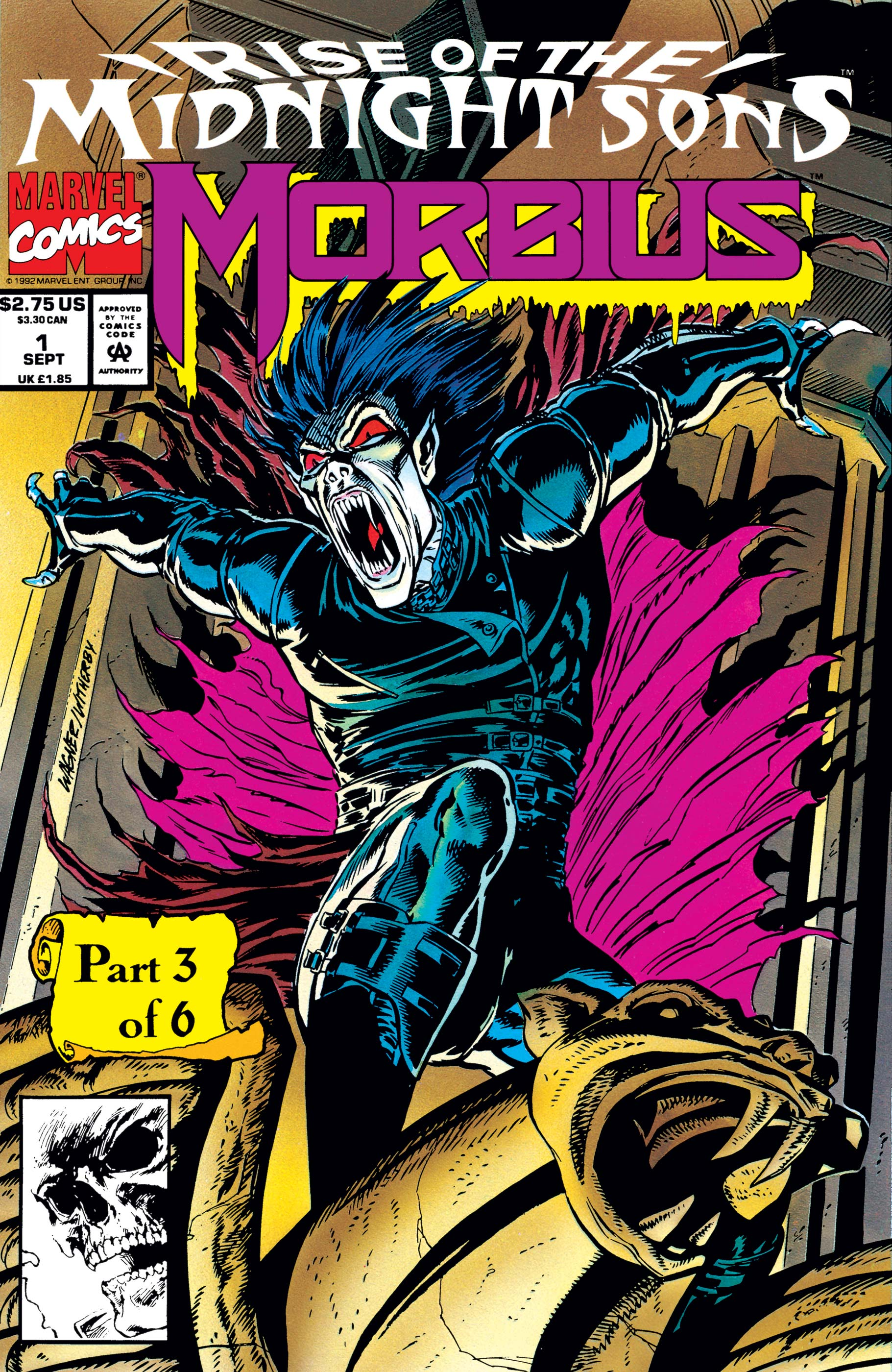 Morbius: The Living Vampire (1992) #1