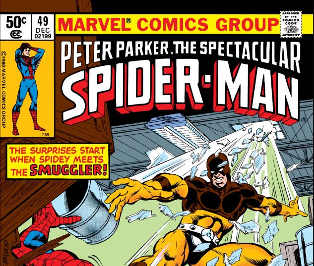 PETER PARKER, THE SPECTACULAR SPIDER-MAN (1976) #49